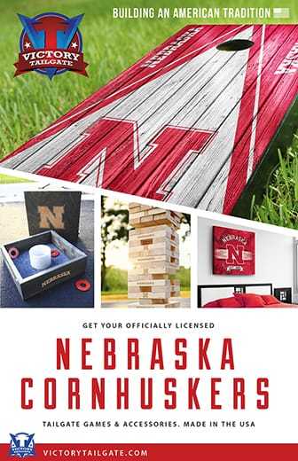 Building an American tradition. Get your officially licensed Nebraska Cornhuskers tailgate games & accessories. Made in the U S A.
