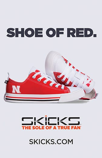 Shoe of red. Skicks, the sole of a true fan. Skicks.com