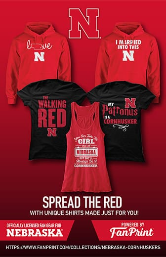 Spread the red with unique shirts made just for you!