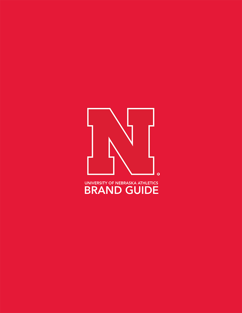 Cover of University of Nebraska Athletics Brand Guide